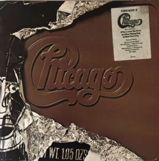 Chicago - Chicago X (LP) (VG-EX/VG+)
